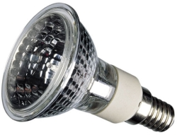 40 Watt Sylvania Hi Spot 50 Par 16 SES 240 Volt (Flood Light Beam)