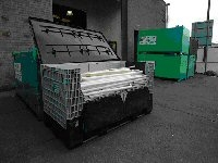 Grey Collapsible Pallets (2000 Average Lamp Capacity)